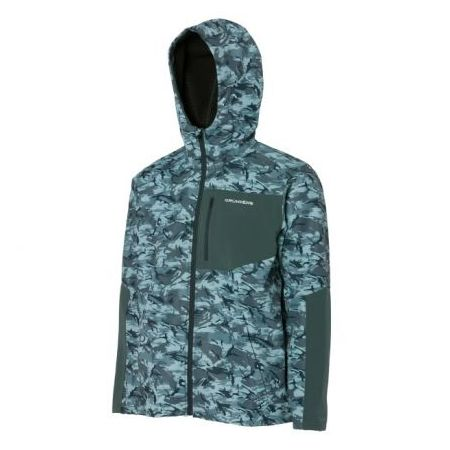 GRUNDENS BULKHEAD FLEECE JACKET DARK SLATE CAMO Price