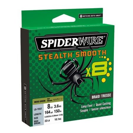 SPIDERWIRE STEALTH SMOOTH GREEN cijena, akcija
